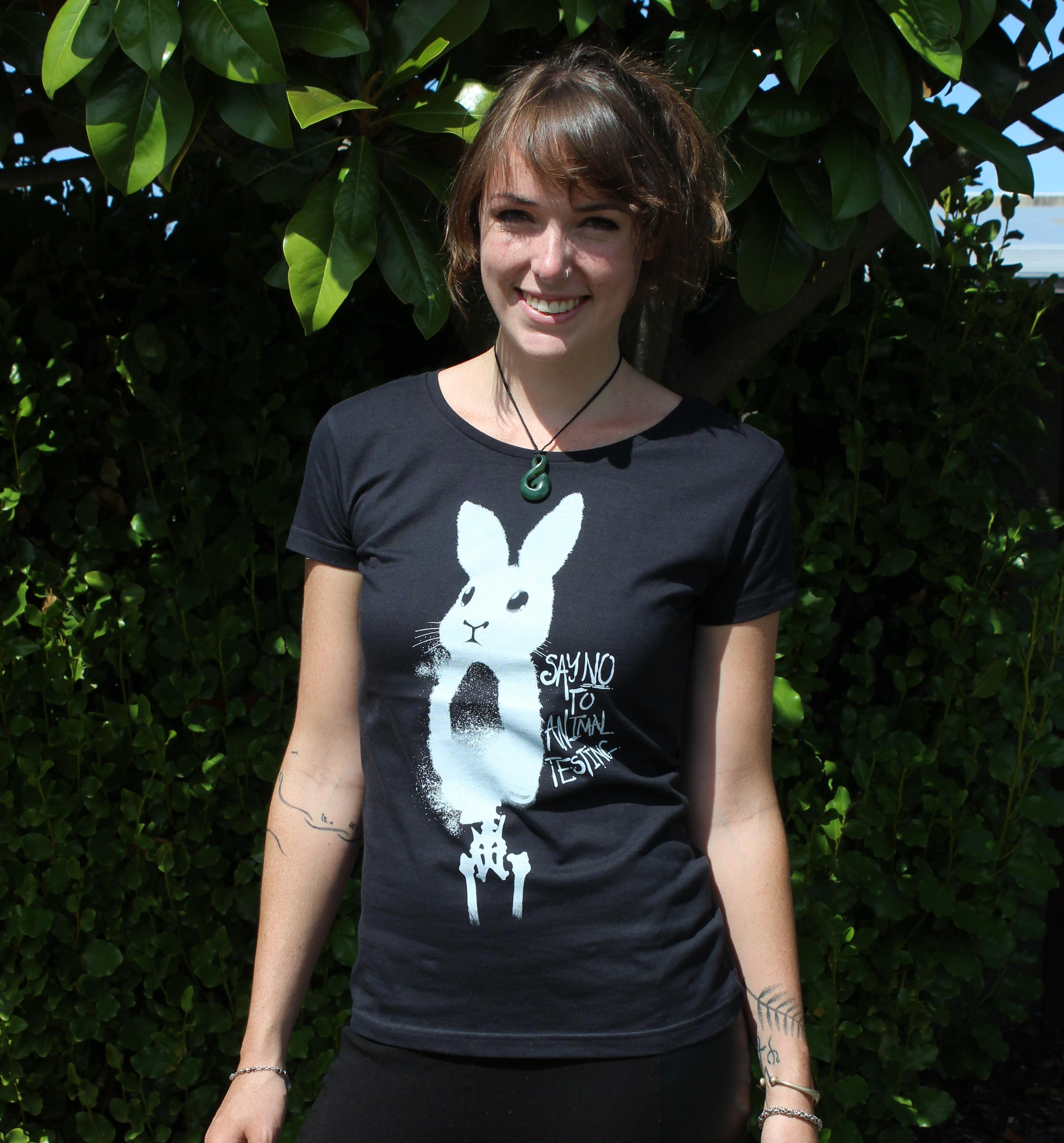 3fe88ab2 T-Shirt - Say No To Animal Testing